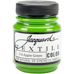 Apple Green - Jacquard Textile Color Fabric Paint 2.25oz