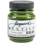 Olive Green - Jacquard Textile Color Fabric Paint 2.25oz