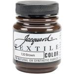 Brown - Jacquard Textile Color Fabric Paint 2.25oz