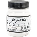White - Jacquard Textile Color Fabric Paint 2.25oz