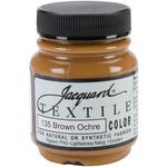 Brown Ochre - Jacquard Textile Color Fabric Paint 2.25oz