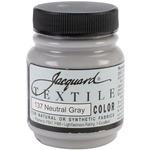 Neutral Gray - Jacquard Textile Color Fabric Paint 2.25oz
