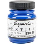 Fluorescent Blue - Jacquard Textile Color Fabric Paint 2.25oz