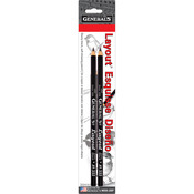 2B - Layout Graphite Drawing Pencils 2/Pkg