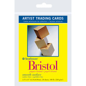 "Bristol Smooth - Strathmore Artist Trading Cards 2.5""X3.5"" 20/Pkg"