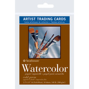 "Watercolor - Strathmore Artist Trading Cards 2.5""X3.5"" 10/Pkg"