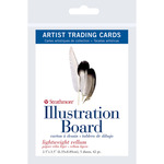 """Illustration Board Vellum - Strathmore Artist Trading Cards 2.5""""X3.5"""" 5/Pkg"""