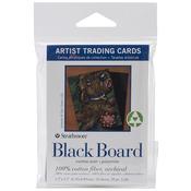 """Black Board - Strathmore Artist Trading Cards 2.5""""X3.5"""" 10/Pkg"""