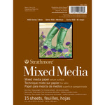 """15 Sheets - Strathmore Mixed Media Vellum Paper Pad 6""""X8"""""""