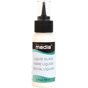 Clear - Media Liquid Glass 2oz