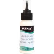 Clear - Media Liquid Glass 2oz