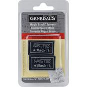 Magic Black Erasers 2/Pkg