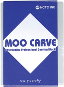 "3""X4""X.5"" - Moo Carving Block"