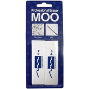Medium - MOO PVC Erasers 2/Pkg