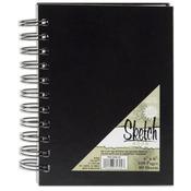 "Pro Art Sketch Book 4""X6"", 80 Sheets"