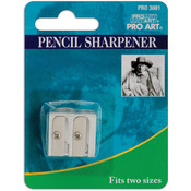 Pro Art Double Pencil Sharpener