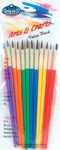 Arts & Crafts Brush Set, 12/Pkg