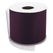 "Wine - Net Mesh 3"" Wide 40yd Spool"
