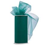 "Emerald - Shiny Tulle 6""X25yd Spool"