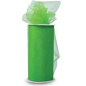 "Green - Shiny Tulle 6""X25yd Spool"