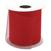 "Red - Diamond Net Mesh 3"" Wide 25yd Spool"