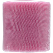 "Paris Pink - Diamond Net Mesh 3"" Wide 25yd Spool"