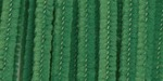 "Kelly Green - Chenille Stems 6mm 12"" 100/Pkg"