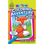 Coloring Adventure Grades P-K - My First Little Busy Book