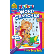 Word Search Grades K-1 - My First Little Busy Book
