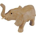 Paper - Mache Figurine -Elephant