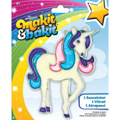 Glitter Unicorn - Makit & Bakit Suncatcher Kit