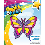 Makit & Bakit Suncatcher Kit - Large Butterfly