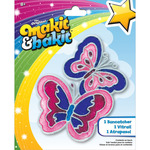 Makit & Bakit Suncatcher Kit - Butterflies