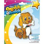 Dog W/Bone - Makit & Bakit Suncatcher Kit
