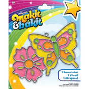 Butterfly & Flower - Makit & Bakit Suncatcher Kit