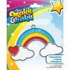 Makit & Bakit Suncatcher Kit - Rainbow With Clouds