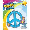 Makit & Bakit Suncatcher Kit - Peace Sign