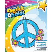 Makit & Bakit Suncatcher Kit - Peace Sign