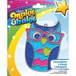 Owl - Makit & Bakit Suncatcher Kit