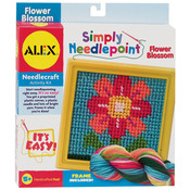 Flower - Simply Needlepoint Kit
