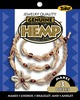 Small Shell Cowrie - Hemp Jewelry Kits TONER-Hemp Jewelry Kit.  This hemp kit makes three pieces: a choker, bracelet and an anklet.  This package contains hemp, beads and detailed instructions.  Available in a variety of styles: shape, size, color and number of beads vary by design.  Contents may vary.  WARNING: Choking Hazard-small parts.  Not for children under 3 years.  Made in USA.