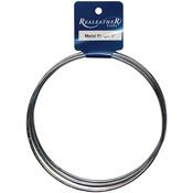 "5"" 4/Pkg - Zinc Metal Rings"