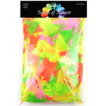 Big Value Pack Feathers - Neon Mix 70 Grams
