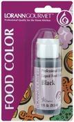 Black - Liquid Food Color 1oz