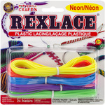 Neon - Rexlace Plastic Lacing 27yd