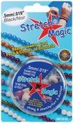 Black - Stretch Magic Bead & Jewelry Cord .5mm 10 Meters/Pkg