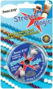 Silver - Stretch Magic Bead & Jewelry Cord .5mm 10 Meters/Pkg