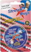 Clear - Stretch Magic Bead & Jewelry Cord 1mm 5 Meters/Pkg
