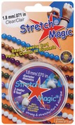 Clear - Stretch Magic Bead & Jewelry Cord 1.8mm 3 Meters/Pkg