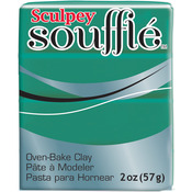 Jade - Sculpey Souffle Clay 2 oz.